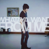 "paraka: Adam Lambert standing with the text ""whataya want from me"" from the music video (AI8-A-Whataya Want From Me)"