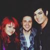 paraka: Adam Lambert, Kris Allen and Allison Iraheta doing a group pose (AI8-K-A-Al-Group Pic)
