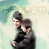 paraka: Kris Allen hugging Adam Lambert from behind (AI8-K-A-Green Cloud Hug)