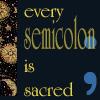 matociquala: (writing semicolon)