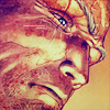 apocalypse_never: Cable's face looking tired and grizzled, in a more realistic style than usual. (weight of history)