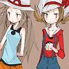 elle_ectricity: Pokemon   Leaf & Kotone (leaf & kotone)