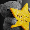 ily: (you're a star bear)
