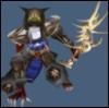 bonesandbooms: Sadagne tracking her prey or feeling threatened. (Combat)