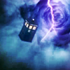 such_heights: the tardis giong through the time vortex (who: tardis storm)