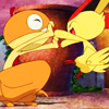 tucker620: dance dance Pokemon (checkyourboots icon--Scraggly and Victin) (Default)