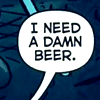 blackinkedwords: ([ misc ] damn beer)