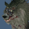 "bonesandbooms: One of Sadagne's ""interesting"" menagerie of pets. (Scamp)"