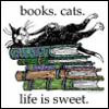 redheadedfemme: (Books. Cats. Life is sweet.)