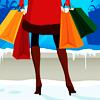 wendelah1: woman holding shopping bags (shopping)