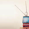 wendelah1: tv set with rabbit ears (television)