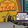 wendelah1: worshipers entering the church of trek (Church of Trek)