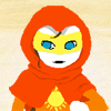 tyger: Personalised image-manip of a Rogue of Light.  (Homestuck) (Rogue of Light)