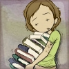 lly: (books be heavy.)