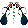 calystarose: Bird Goddesses with the word Dance between them (Bird Goddess Dance)