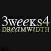 erda: three weeks for dreamwidth  (three weeks for dreamwidth)