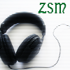 zerosuckmusic: Stereo headphones with the letters ZSM (Default)