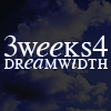 telesilla: test reading: three weeks for dreamwidth (3 weeks 4 dw)