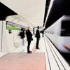 existence: german subway photograph (always running still)