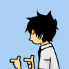 keepsthefire: best Yukio impression ([✠] bang!)