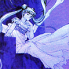 apollymi: Princess Serenity sitting on a throne, deep in thought, no text (BSSM**Usagi: Contemplation (Serenity))