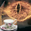 ext_3472: Sauron drinking tea. (Squee)