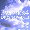 majoline: 3 weeks for Dreamwidth (3w4dw)