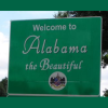 barefootbham: Alabama border sign, Welcome to Alabama the Beautiful (Default)