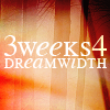 "peoppenheimer: text icon: ""three weeks for dreamwidth""  (three weeks for dreamwidth)"