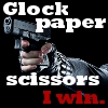 dine: (glock paper scissors - clumsygyrl)