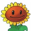 bodger: Sunflower from Plants vs Zombies game (PvZ sunflower)