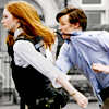 monanotlisa: amelia pond dragging the Doctor by his tie. WORDS CANNOT EXPRESS MY LOVE! (eleventy!11!!! - doctor who)