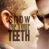 auburn: Stiles and Derek (Show Me Your Teeth [TW])