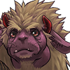 monsterboy: A Final Fantasy Behemoth, looking nervous and puppy-like. (behemoth - nervous)