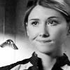 copracat: Jennifer Keller's wry face in black and white (jennifer keller)