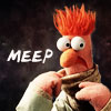 eleanorjane: Beaker, looking alarmed. (meep, beaker)