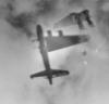 mycroftca: WWII B&W photo of crashing bomber (wrecked bomber)