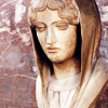 aella_irene: a statuary head of a woman (ancient greece: woman)