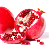 holyschist: Icon of a pomegranate split open to show sees (food)