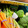 "redsnake05: vegetables with a sign saying ""organic"" (Creative: Food organic)"