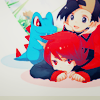 tamamori: (「pokemon」 ☠ dogpile!)