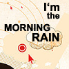 fay_e: Text: I'm the morning rain (byakuya blue eyes)