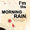 fay_e: Text: I'm the morning rain (orihime)