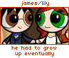 theorclair: (james and lily)