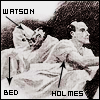 theorclair: (holmes watson bed)