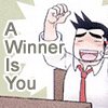 theorclair: (a winner is you)