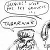 etben: angry voyageurs, without beavers. (TABERNAK, voyageurs)