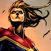 musesfool: Carol Danvers as Captain Marvel (not alone in the dark)