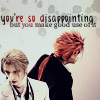 littleglassvial: •final fantasy vii, reno+rufus (reno|rufus • such a disappointment)