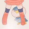 autisticalice: (shy; piplup)